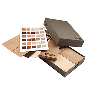 Samplebox (Douglas, Oak, Ash, Pine)